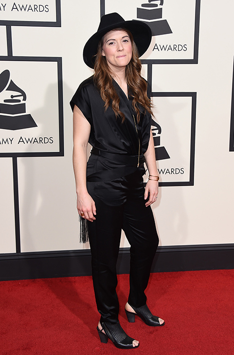 "<div class=""meta image-caption""><div class=""origin-logo origin-image ap""><span>AP</span></div><span class=""caption-text"">Brandi Carlile arrives at the 58th annual Grammy Awards at the Staples Center on Monday, Feb. 15, 2016, in Los Angeles. (Jordan Strauss/Invision/AP)</span></div>"
