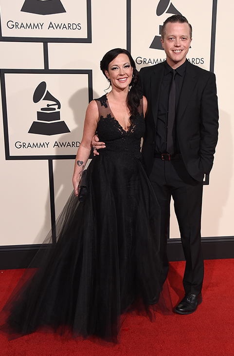 "<div class=""meta image-caption""><div class=""origin-logo origin-image ap""><span>AP</span></div><span class=""caption-text"">Jason Isbell, right, and Amanda Shires arrive at the 58th annual Grammy Awards at the Staples Center on Monday, Feb. 15, 2016, in Los Angeles. (Jordan Strauss/Invision/AP)</span></div>"