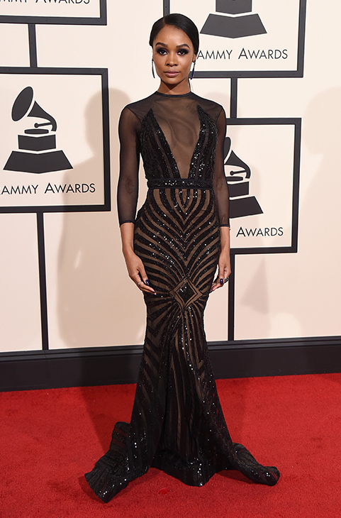 "<div class=""meta image-caption""><div class=""origin-logo origin-image ap""><span>AP</span></div><span class=""caption-text"">Zuri Hall arrives at the 58th annual Grammy Awards at the Staples Center on Monday, Feb. 15, 2016, in Los Angeles. (Jordan Strauss/Invision/AP)</span></div>"