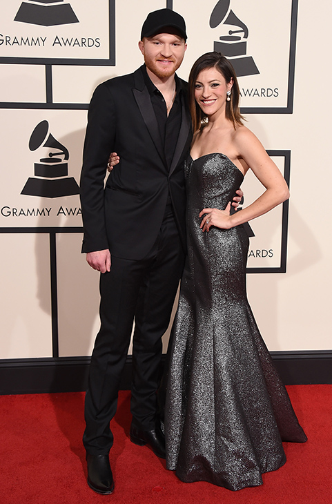 "<div class=""meta image-caption""><div class=""origin-logo origin-image ap""><span>AP</span></div><span class=""caption-text"">Eric Paslay, left, and Natalie Harker arrive at the 58th annual Grammy Awards at the Staples Center on Monday, Feb. 15, 2016, in Los Angeles. (Jordan Strauss/Invision/AP)</span></div>"