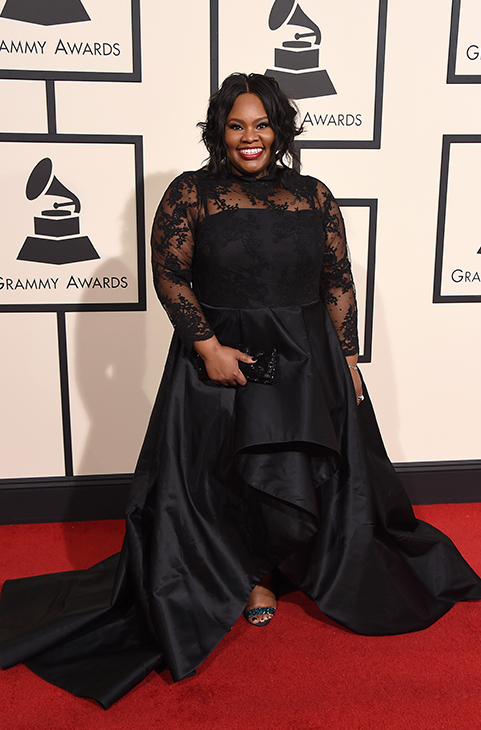 "<div class=""meta image-caption""><div class=""origin-logo origin-image ap""><span>AP</span></div><span class=""caption-text"">Tasha Cobbs arrives at the 58th annual Grammy Awards at the Staples Center on Monday, Feb. 15, 2016, in Los Angeles. (Jordan Strauss/Invision/AP)</span></div>"
