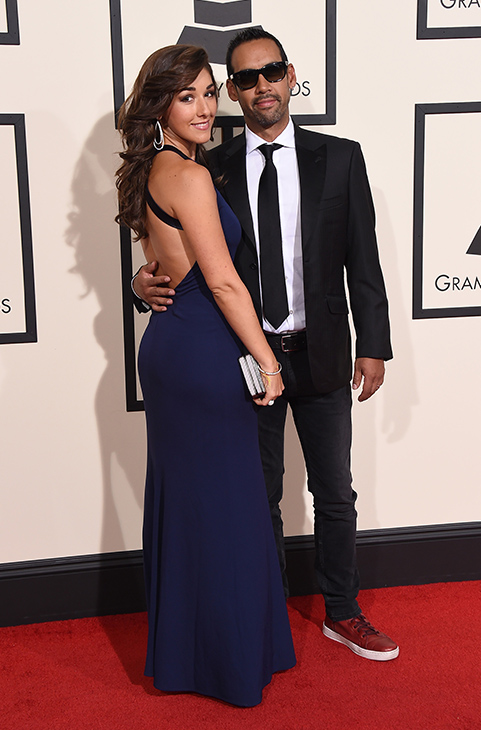 "<div class=""meta image-caption""><div class=""origin-logo origin-image ap""><span>AP</span></div><span class=""caption-text"">Thana Alexa, left, and Antonio Sanchez arrive at the 58th annual Grammy Awards at the Staples Center on Monday, Feb. 15, 2016, in Los Angeles. (Jordan Strauss/Invision/AP)</span></div>"
