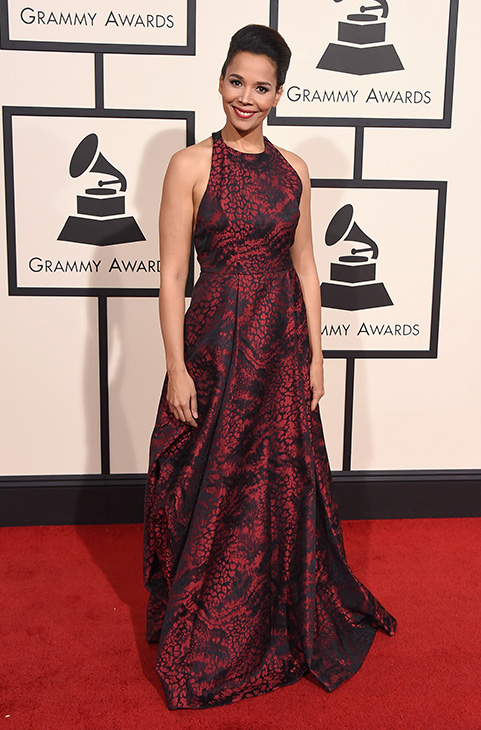 "<div class=""meta image-caption""><div class=""origin-logo origin-image ap""><span>AP</span></div><span class=""caption-text"">Rhiannon arrives at the 58th annual Grammy Awards at the Staples Center on Monday, Feb. 15, 2016, in Los Angeles. (Jordan Strauss/Invision/AP)</span></div>"