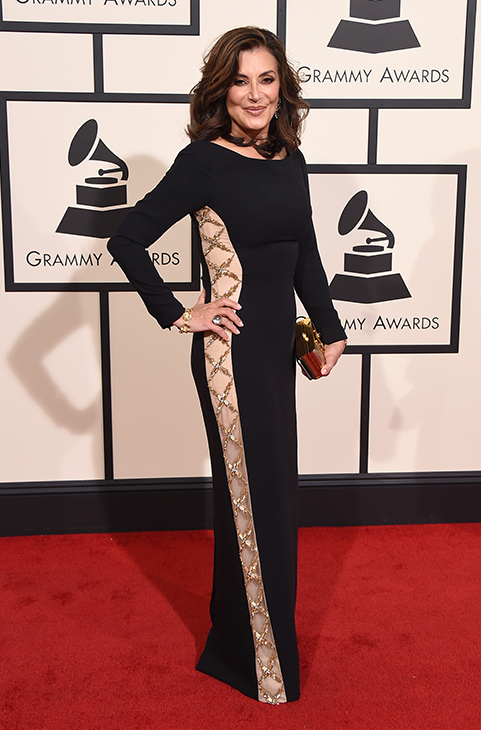 "<div class=""meta image-caption""><div class=""origin-logo origin-image ap""><span>AP</span></div><span class=""caption-text"">Denise Donatelli arrives at the 58th annual Grammy Awards at the Staples Center on Monday, Feb. 15, 2016, in Los Angeles. (Jordan Strauss/Invision/AP)</span></div>"