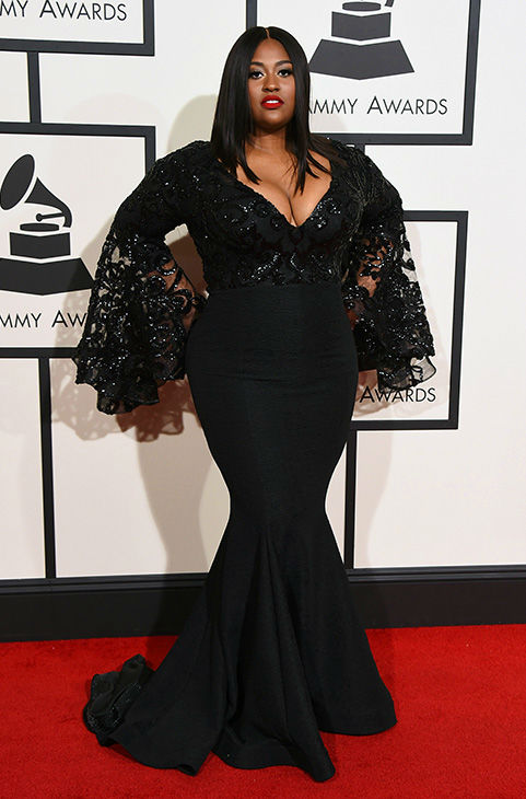 "<div class=""meta image-caption""><div class=""origin-logo origin-image none""><span>none</span></div><span class=""caption-text"">Jazmine Sullivan arrives at the 58th annual Grammy Awards at the Staples Center on Monday, Feb. 15, 2016, in Los Angeles. (Jordan Strauss/Invision/AP)</span></div>"