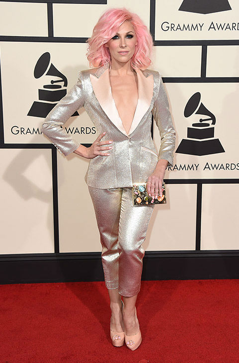 "<div class=""meta image-caption""><div class=""origin-logo origin-image none""><span>none</span></div><span class=""caption-text"">Bonnie McKee arrives at the 58th annual Grammy Awards at the Staples Center on Monday, Feb. 15, 2016, in Los Angeles. (Jordan Strauss/Invision/AP)</span></div>"