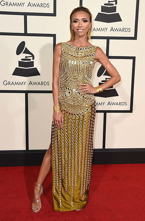 "<div class=""meta image-caption""><div class=""origin-logo origin-image none""><span>none</span></div><span class=""caption-text"">Giuliana Rancic arrives at the 58th annual Grammy Awards at the Staples Center on Monday, Feb. 15, 2016, in Los Angeles. (Jordan Strauss/Invision/AP)</span></div>"