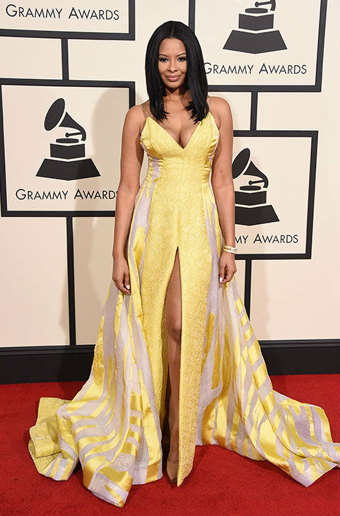 "<div class=""meta image-caption""><div class=""origin-logo origin-image none""><span>none</span></div><span class=""caption-text"">Vanessa Simmons arrives at the 58th annual Grammy Awards at the Staples Center on Monday, Feb. 15, 2016, in Los Angeles. (Jordan Strauss/Invision/AP)</span></div>"