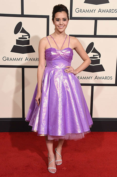 "<div class=""meta image-caption""><div class=""origin-logo origin-image none""><span>none</span></div><span class=""caption-text"">Megan Nicole arrives at the 58th annual Grammy Awards at the Staples Center on Monday, Feb. 15, 2016, in Los Angeles. (Jordan Strauss/Invision/AP)</span></div>"