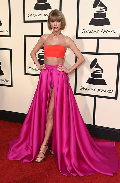 "<div class=""meta image-caption""><div class=""origin-logo origin-image none""><span>none</span></div><span class=""caption-text"">Taylor Swift arrives at the 58th annual Grammy Awards at the Staples Center on Monday, Feb. 15, 2016, in Los Angeles. (Jordan Strauss/Invision/AP)</span></div>"