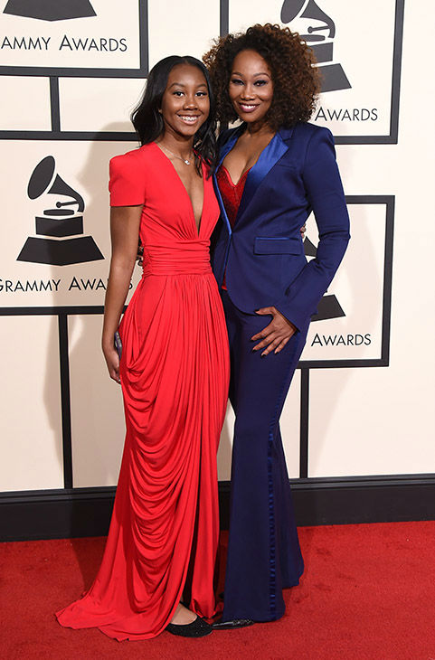 "<div class=""meta image-caption""><div class=""origin-logo origin-image none""><span>none</span></div><span class=""caption-text"">Taylor Crawford, left, and Yolanda Adams arrive at the 58th annual Grammy Awards at the Staples Center on Monday, Feb. 15, 2016, in Los Angeles. (Jordan Strauss/Invision/AP)</span></div>"