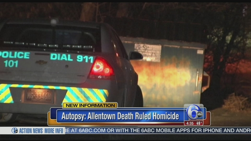 VIDEO: Allentown death ruled homicide