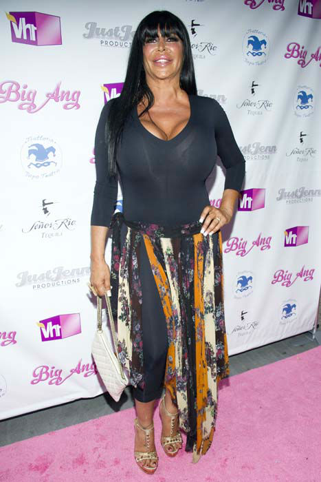 "<div class=""meta image-caption""><div class=""origin-logo origin-image none""><span>none</span></div><span class=""caption-text"">Angela Raiola, better know as Big Ang, arrives to the premiere of her VH1  reality show ""Big Ang"" (Charles Sykes/Invision/AP)</span></div>"
