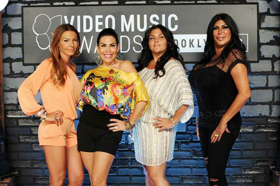 "<div class=""meta image-caption""><div class=""origin-logo origin-image none""><span>none</span></div><span class=""caption-text"">Drita Davanzo, Renee Graziano and Angela 'Big Ang' Raiola arrive at the MTV Video Music Awards on Sunday, Aug. 25, 2013. (Evan Agostini/Invision/AP)</span></div>"