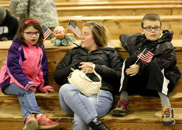 "<div class=""meta image-caption""><div class=""origin-logo origin-image none""><span>none</span></div><span class=""caption-text"">Paratroopers from Headquarters and Headquarters Battalion, 82nd Airborne Division return to Fort Bragg, N.C. on Feb. 19, 2016. (Photo/82nd Airborne Division)</span></div>"