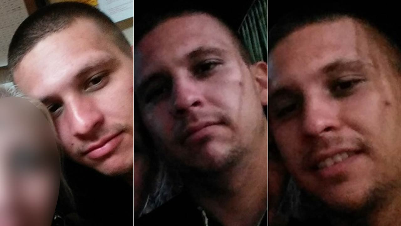 Michael Soto is seen in selfies taken on a stolen Kindle taken from a parking lot in the 16800 block of Vanowen Street on Tuesday, Feb. 9, 2016.