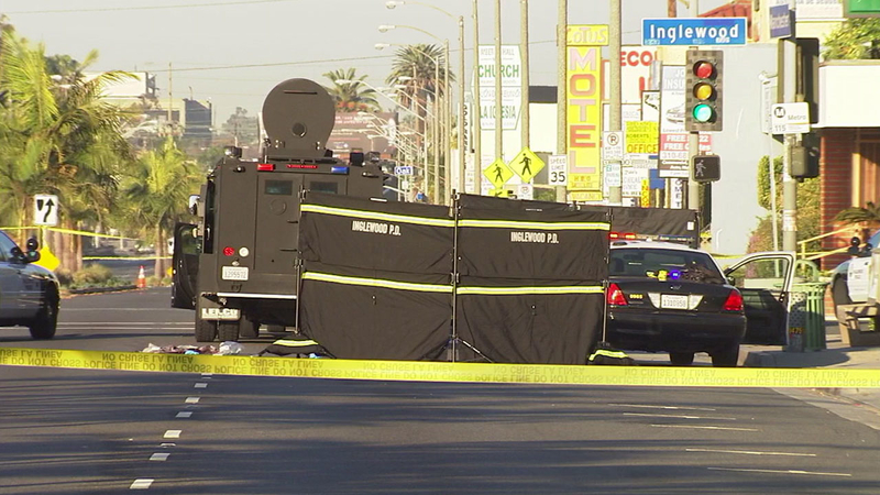 Woman, man killed in Inglewood officer-involved shooting