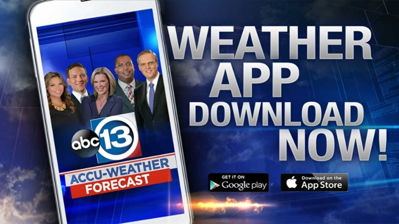 Get severe weather alerts sent to your phone | abc13 com