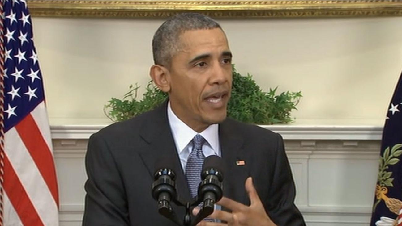 President Obama speaks at the White House, Tuesday, February 23, 2016.