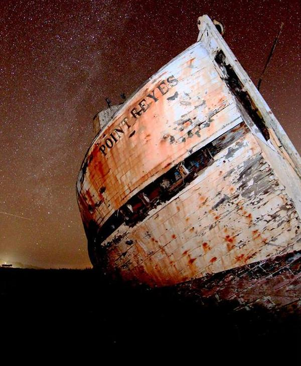 """<div class=""""meta image-caption""""><div class=""""origin-logo origin-image none""""><span>none</span></div><span class=""""caption-text"""">The abandoned Point Reyes is seen after it was damaged by a fire on Monday, February 22, 2016. (Photo submitted to KGO-TV by Stee VeBowman/Facebook)</span></div>"""