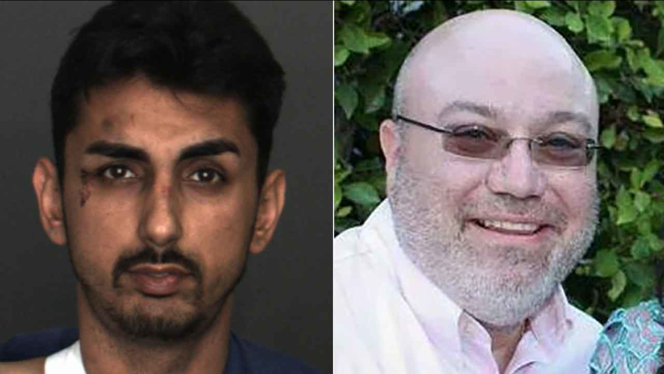 Alex Demetro (left) crashed a Corvette into a tree during a test drive in Ontario Tuesday, Feb. 23, 2016, killing CarMax salesman Warren Smale (right).