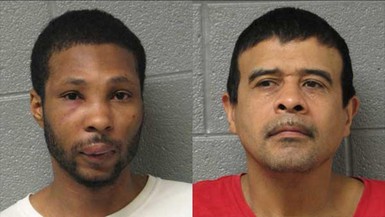 Calvin Kennedy, 35, and Eduardo Ortiz, 51.