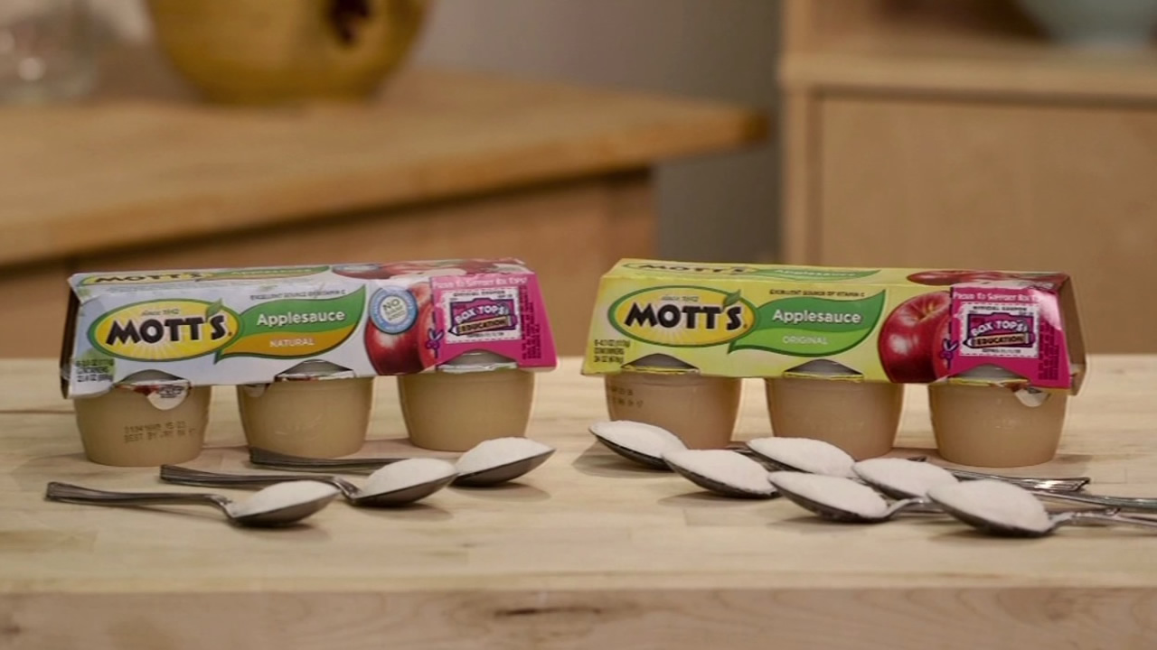 Mott's Natural Applesauce is seen in this undated image.