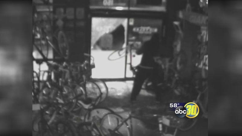 Fresno bike shops being targeted by thieves