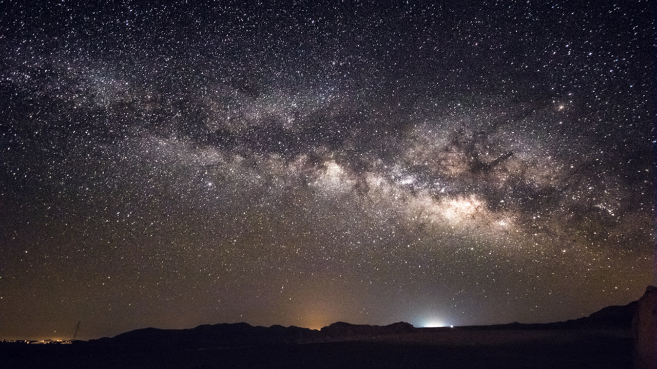 A stock image of the Milky Way
