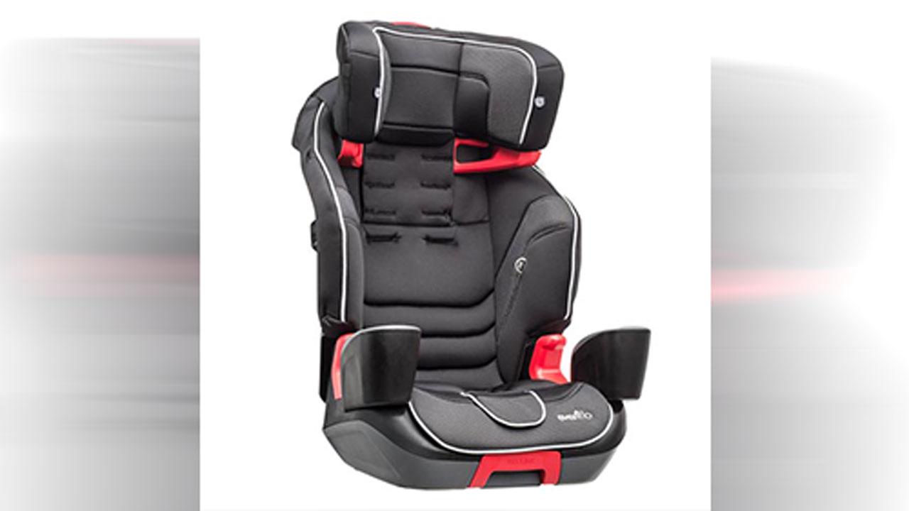 Evenflo seat recall