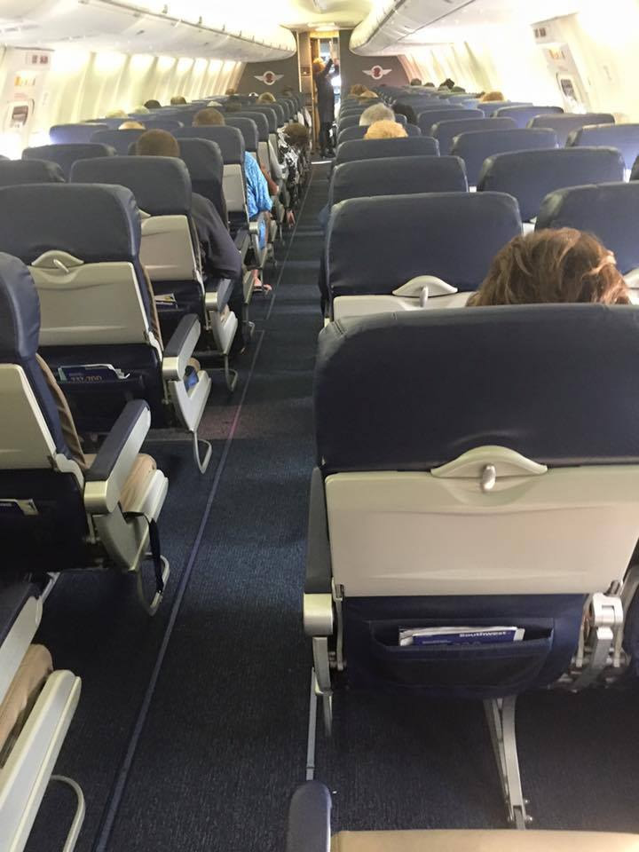 "<div class=""meta image-caption""><div class=""origin-logo origin-image none""><span>none</span></div><span class=""caption-text"">ABC7 News reporter Matt Keller snapped this photo of his ""first class"" seats on Southwest at Mineta San Jose International Airport in San Jose, Calif. on Friday, February 26, 2016. (KGO-TV/Matt Keller)</span></div>"