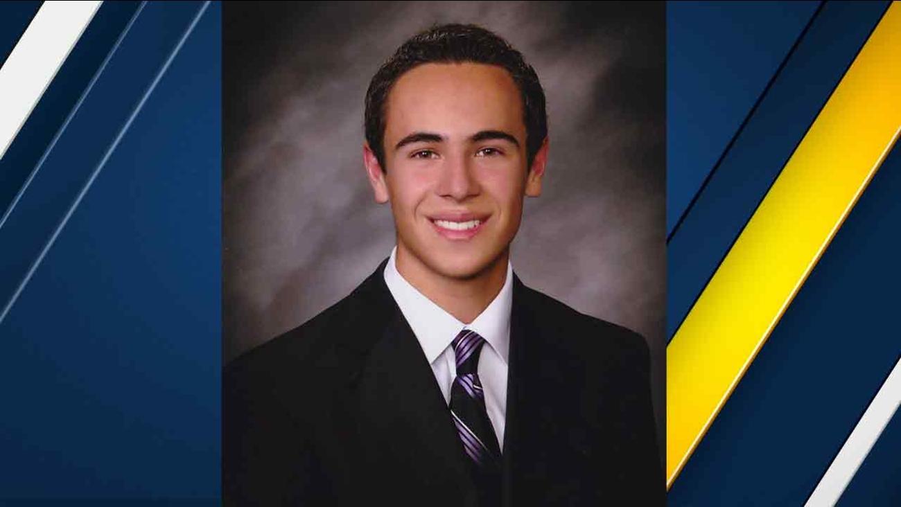 Brian Lewandowski, 18, was killed in a fiery crash on the northbound 5 Freeway in Commerce on Saturday, Feb. 27, 2016.
