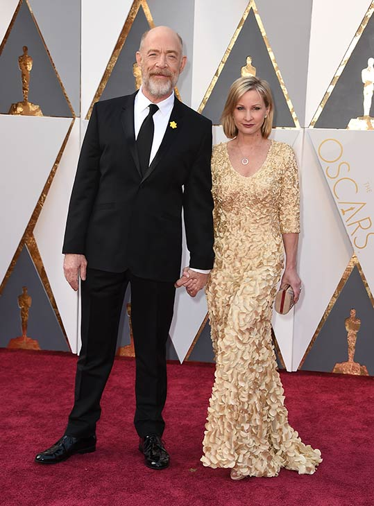 "<div class=""meta image-caption""><div class=""origin-logo origin-image ap""><span>AP</span></div><span class=""caption-text"">J. K. Simmons with his wife Michelle Schumacher arrive at the Oscars on Sunday, Feb. 28, 2016, at the Dolby Theatre in Los Angeles. (Photo by Jordan Strauss/Invision/AP)</span></div>"