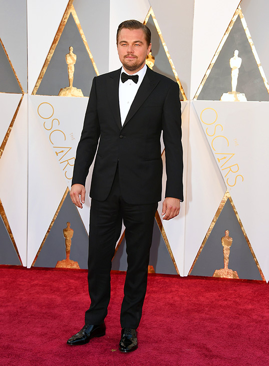 "<div class=""meta image-caption""><div class=""origin-logo origin-image ap""><span>AP</span></div><span class=""caption-text"">Leonardo DiCaprio arrives at the Oscars on Sunday, Feb. 28, 2016, at the Dolby Theatre in Los Angeles. (Jordan Strauss/Invision/AP)</span></div>"