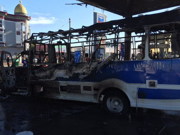 "<div class=""meta image-caption""><div class=""origin-logo origin-image none""><span>none</span></div><span class=""caption-text"">A bus caught fire at a gas station in San Francisco on Monday, February 29, 2016. (KGO-TV)</span></div>"
