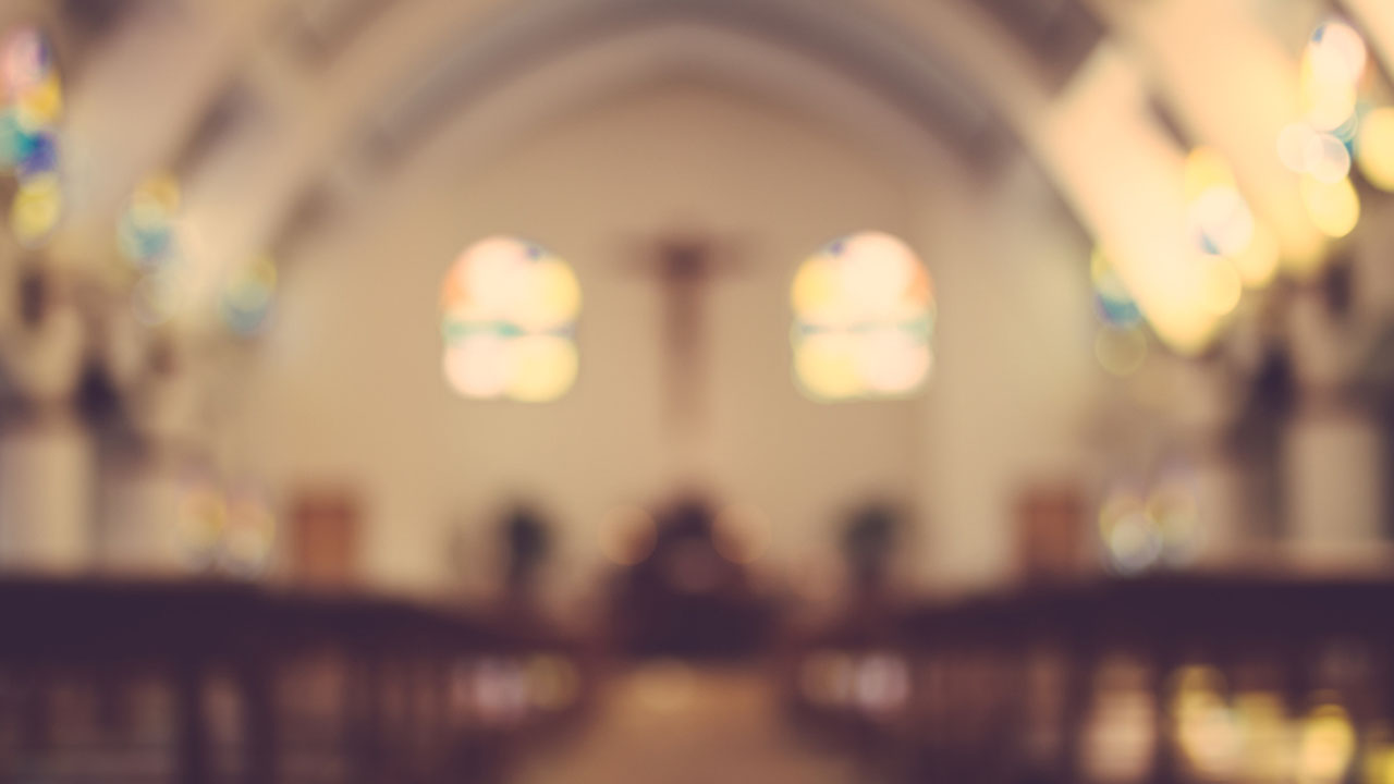 Church stock image