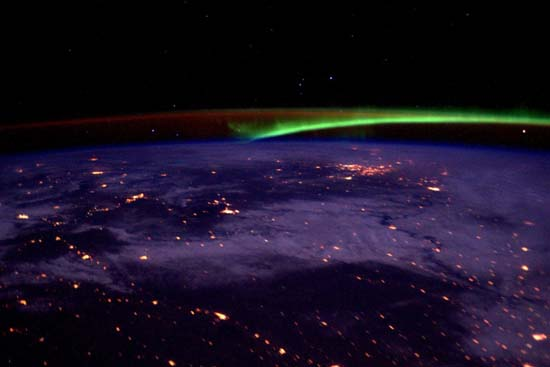 <div class='meta'><div class='origin-logo' data-origin='none'></div><span class='caption-text' data-credit='@StationCDRKelly/ NASA'>The Aurora Borealis</span></div>