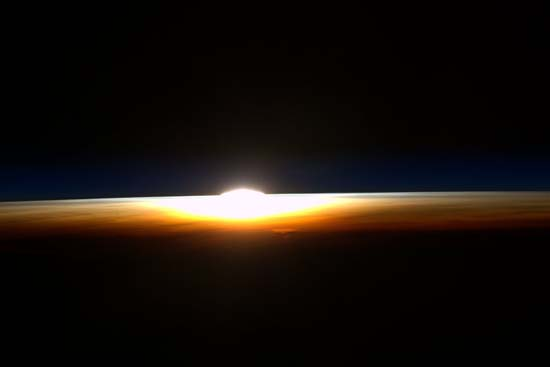 <div class='meta'><div class='origin-logo' data-origin='none'></div><span class='caption-text' data-credit=''>Last sunrise from the Space Station</span></div>