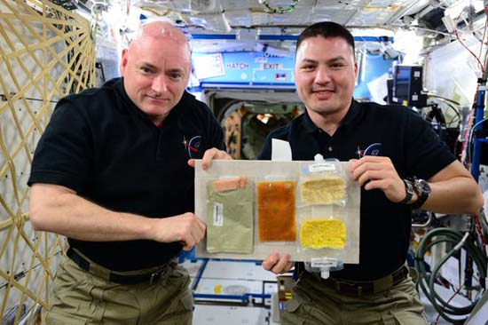 <div class='meta'><div class='origin-logo' data-origin='none'></div><span class='caption-text' data-credit=''>Thanksgiving dinner on the Space Station</span></div>