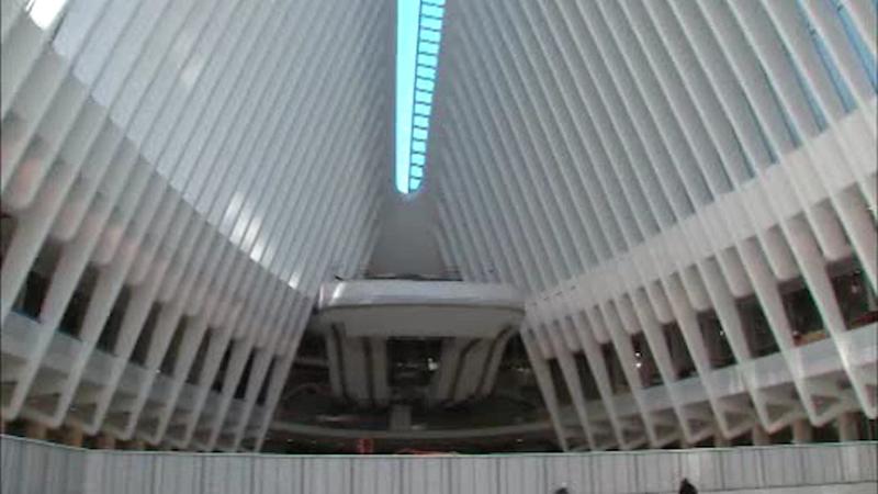 New WTC transit hub opens