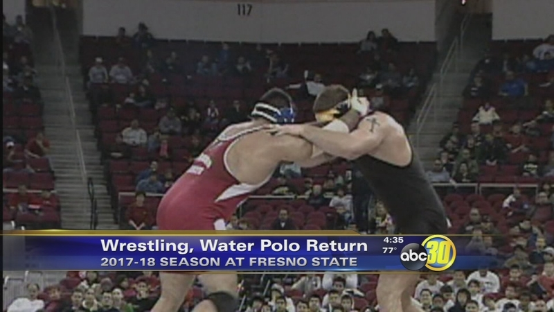 Fresno State to add wrestling, women's water polo