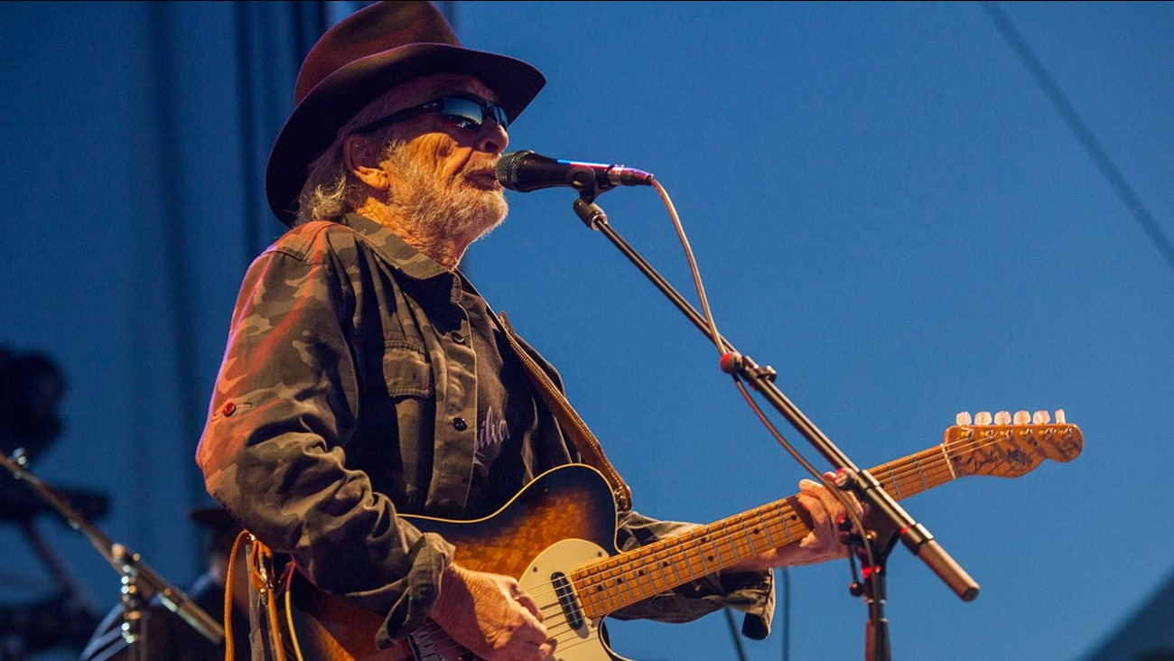 Merle Haggard seen at Riot Fest & Carnival in Douglas Park on Saturday, Sept. 12, 2015 in Chicago