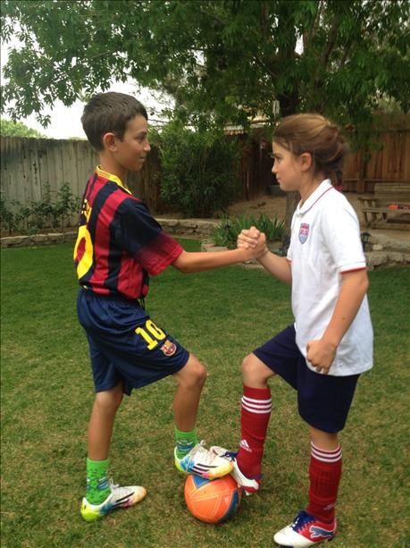 "<div class=""meta image-caption""><div class=""origin-logo origin-image ""><span></span></div><span class=""caption-text"">Brother and sister ready to play! World Cup celebrations are happening all around the Bay Area.  Send your photos to uReport@kgo-tv.com (photo submitted by Angie via uReport)</span></div>"