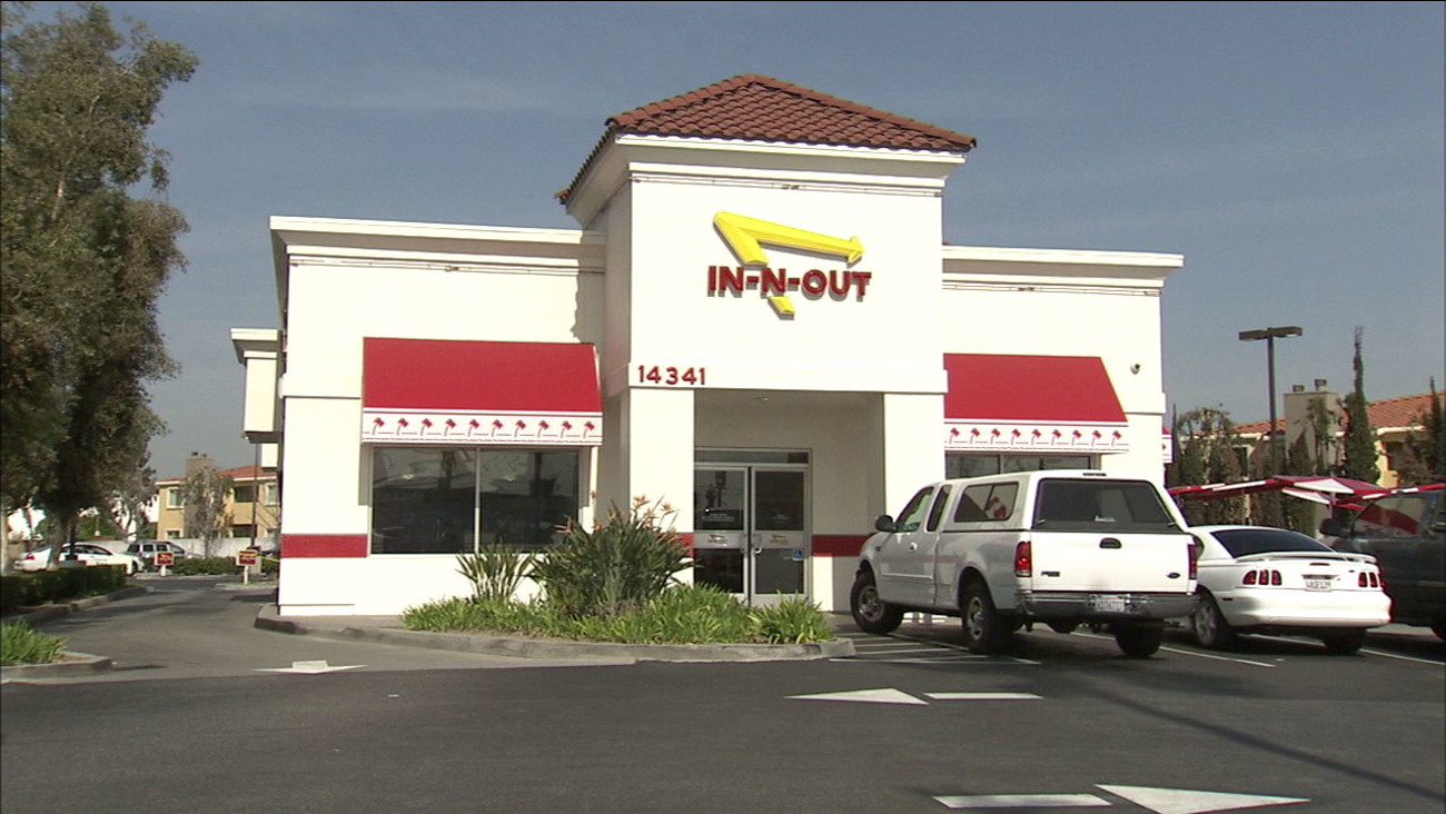 A longtime employee at this In-N-Out restaurant in La Mirada was found killed in the parking lot on Friday, Feb. 26, 2016.