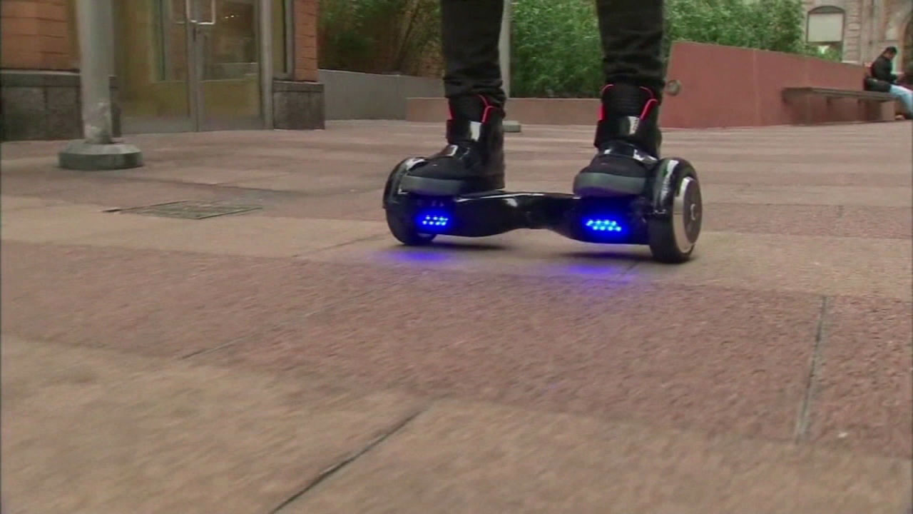 A hoverboard is seen in this undated file photo.