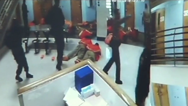 Newly installed cameras show massive inmate brawl at Santa Clara County Jail