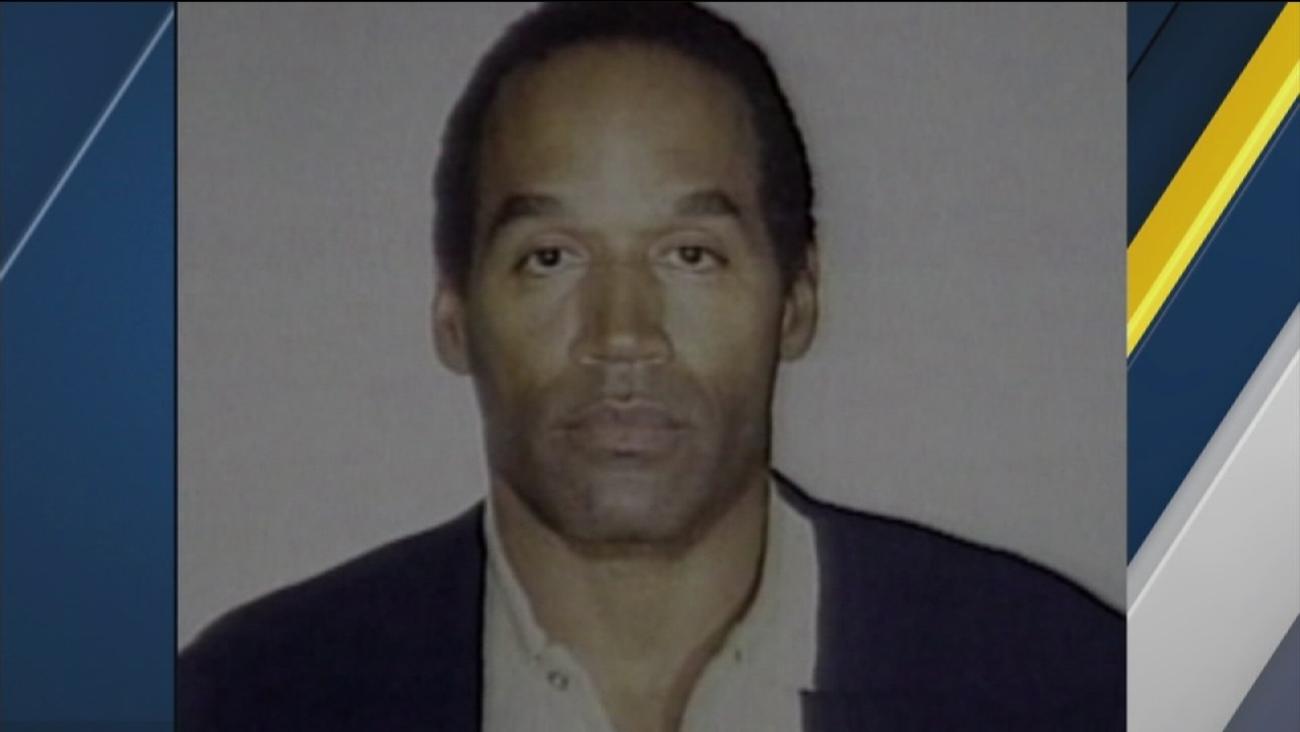 An undated file photo of OJ Simpson.