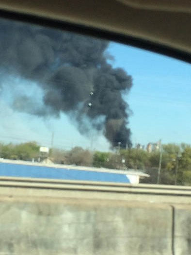 <div class='meta'><div class='origin-logo' data-origin='none'></div><span class='caption-text' data-credit=''>Viewer photo from the explosion at Pasadena Refining System off SH 225.</span></div>