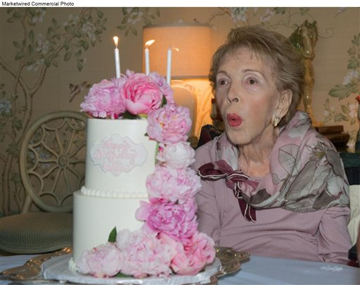 <div class='meta'><div class='origin-logo' data-origin='AP'></div><span class='caption-text' data-credit='MKT'>Nancy Reagan's 94th Birthday</span></div>