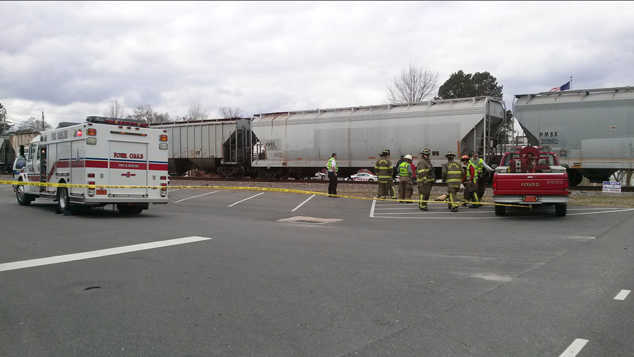 Four Oaks train accident